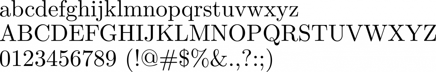 Latin Modern Roman Font Free by GUST e-foundry » Font Squirrel