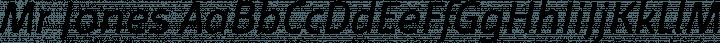 Mr Jones font family by Miller Type Foundry