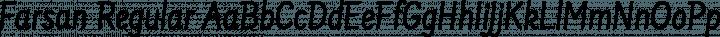 Farsan Regular Regular free font