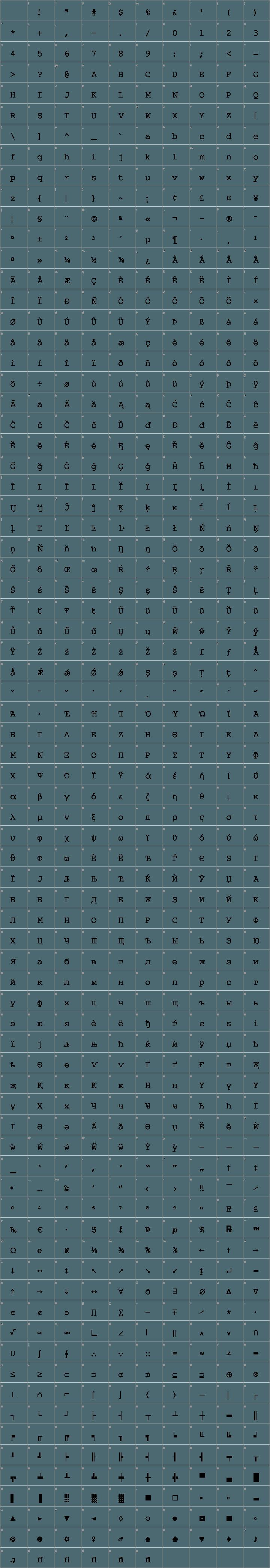 Nimbus Mono Font Free by URW++ » Font Squirrel