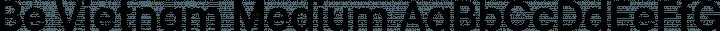 Be Vietnam Medium free font