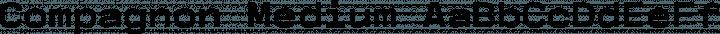 Compagnon Medium free font