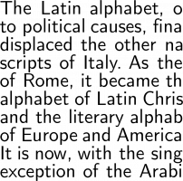 Computer Modern Font Free by Donald E  Knuth » Font Squirrel