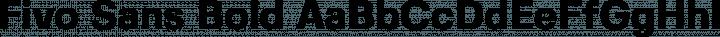 Fivo Sans Bold free font
