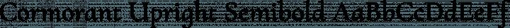 Cormorant Upright Semibold free font