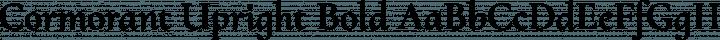 Cormorant Upright Bold free font