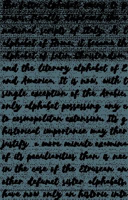 Selima Regular Font Specimen