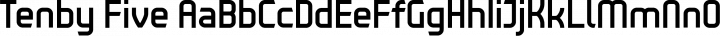 Tenby Five Regular free font