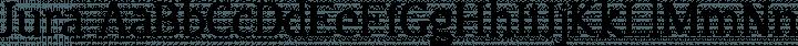 Jura font family by Ten by Twenty