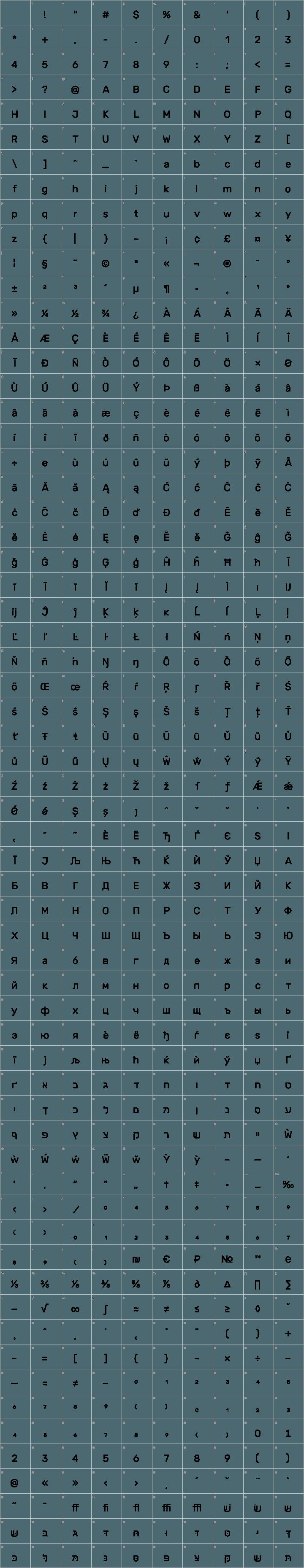 Rubik Font Free by Hubert & Fischer » Font Squirrel