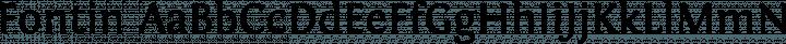 Fontin Regular free font
