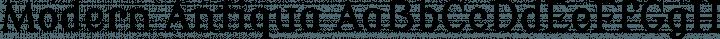 Modern Antiqua Regular free font