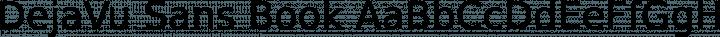 DejaVu Sans Book free font