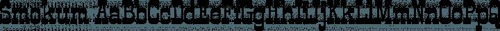 Smokum font family by Astigmatic