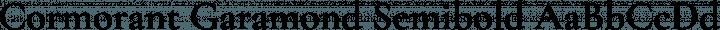 Cormorant Garamond Semibold free font