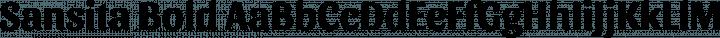 Sansita Bold free font