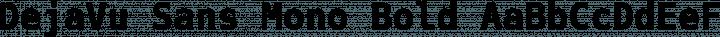DejaVu Sans Mono Bold free font