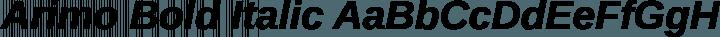 Arimo Bold Italic free font