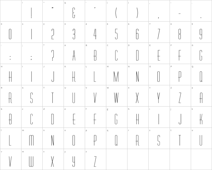Diner Font Free by David Rakowski » Font Squirrel