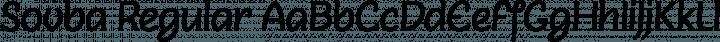 Sovba Regular Regular free font