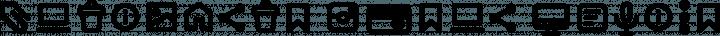 Antipasto Icons DemiBold free font