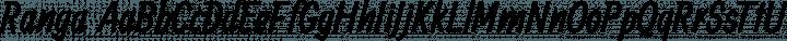 Ranga Regular free font