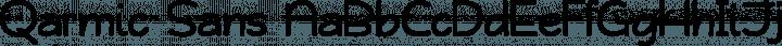 Qarmic Sans font family by Joanne Taylor