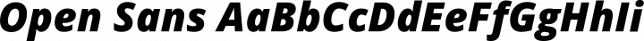 Open Sans font family by Ascender Fonts