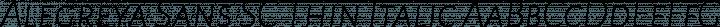 Alegreya Sans SC Thin Italic free font