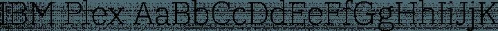 IBM Plex font family by IBM