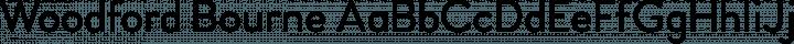 Woodford Bourne Regular free font
