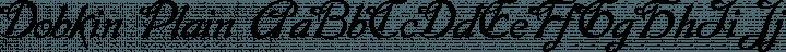 Dobkin Plain free font