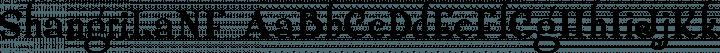 ShangriLaNF Regular free font