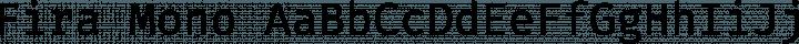 Fira Mono Regular free font