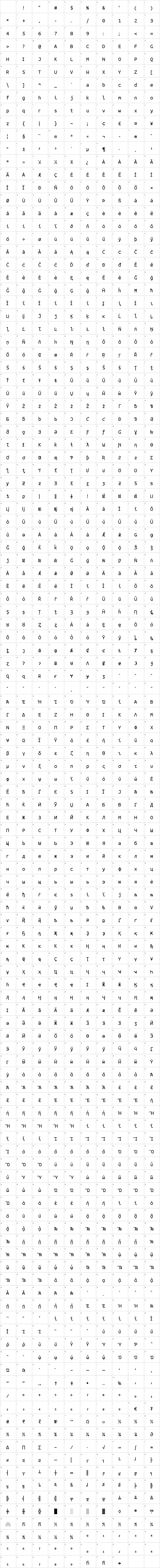 Ubuntu Mono Font Free by Dalton Maag Ltd » Font Squirrel