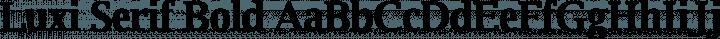 Luxi Serif Bold free font