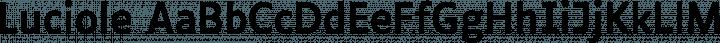 Luciole Regular free font