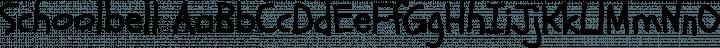 Schoolbell Regular free font