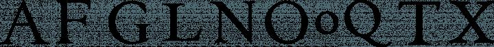 EB Garamond Initials Fill2 free font