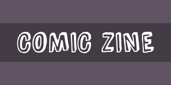 Comic Zine Font Free By Blue Vinyl Fonts 187 Font Squirrel