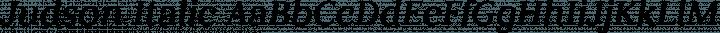 Judson Italic free font