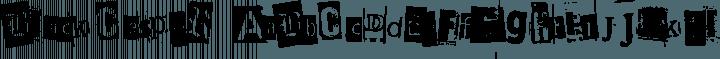 BlackCasper Regular free font