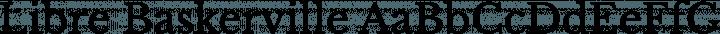 Libre Baskerville Regular free font