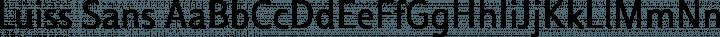 Luiss Sans Regular free font