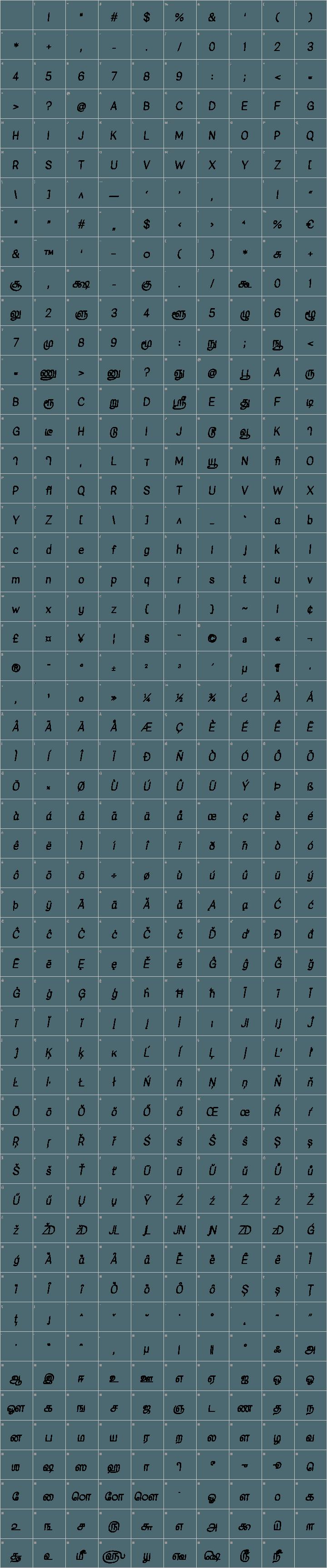 Kavivanar Font Free by Tharique Azeez » Font Squirrel