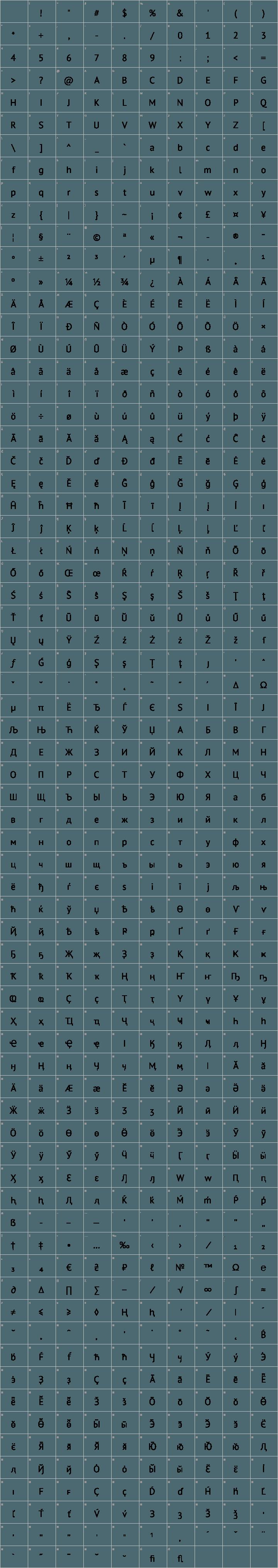 PT Sans Font Free by Paratype » Font Squirrel