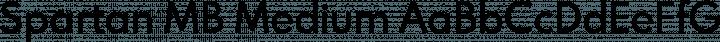 Spartan MB Medium free font