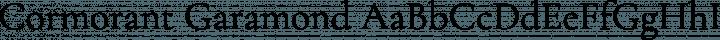 Cormorant Garamond Regular free font