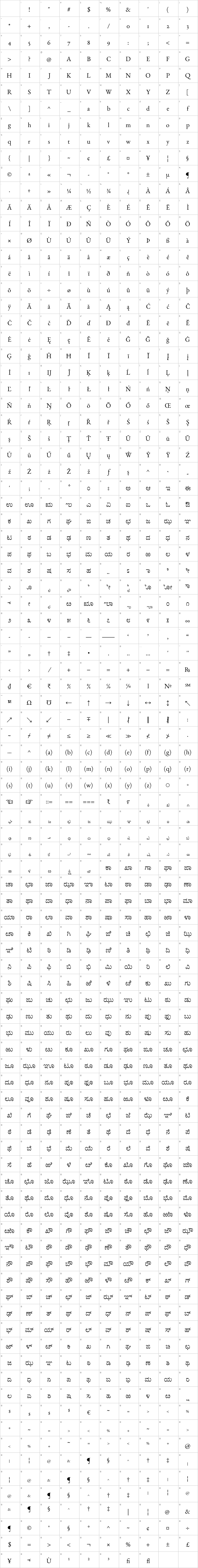 Benne Font Free by John Harrington