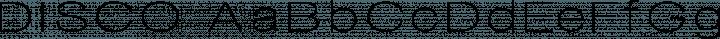 DISCO font family by Typografski